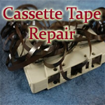Cassette Tape Repair, Microcassette Tape Repair , Video Tape Repair