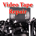 VHS Tape Repair, Video Tape Repair